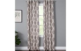 Vivian 50'' x 63'' Red Curtain Panel