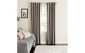 Wallace 42'' x 63'' Taupe Curtain Panel