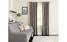 Wallace 42'' x 95'' Taupe Curtain Panel