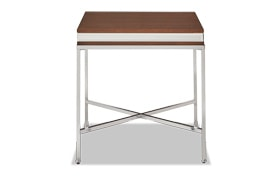 Kaydee Chrome End Table