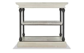 Joely White End Table
