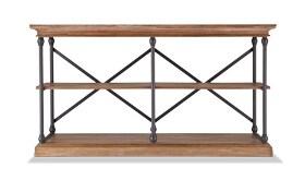 Hutton Oak Console Table