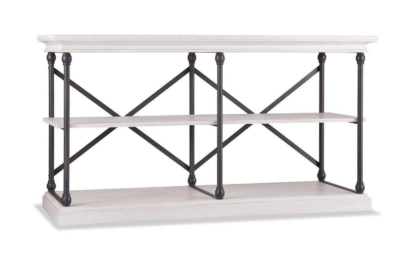 Hutton White Console Table