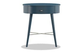Jodie Navy Accent Table