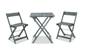 Margaret Gray 3pc Outdoor Table Set