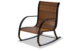Rayner Brown Wicker Chair