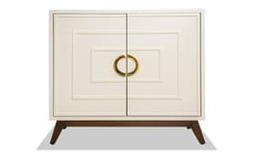 Livia White Two Door Cabinet