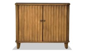 Shelton Brown Two Door Cabinet