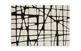 Toyah White & Black 5'3'' x 7'7'' Rug
