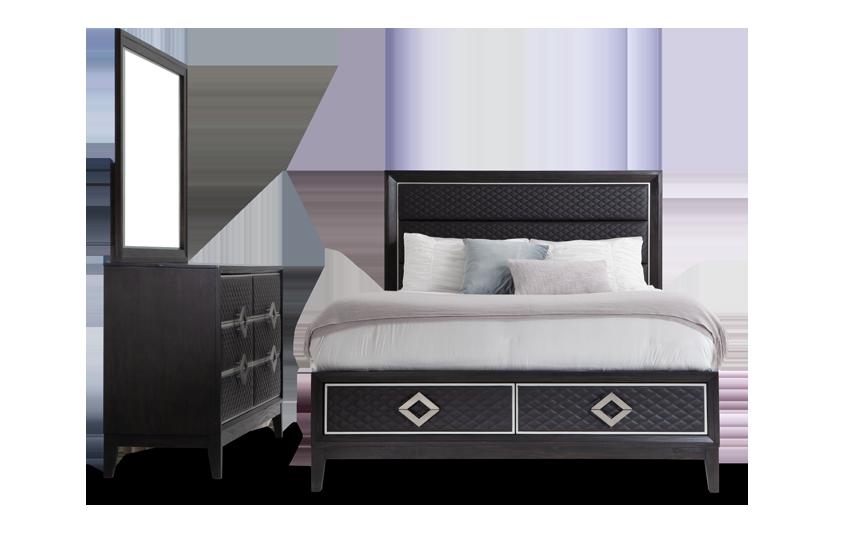 Rio California King Storage Bedroom Set