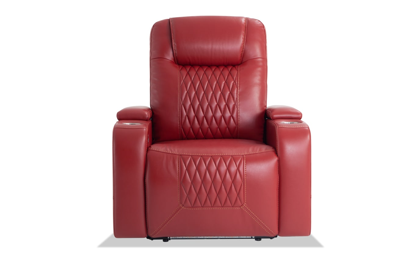 Showtime Red Home Theater Power Recliner