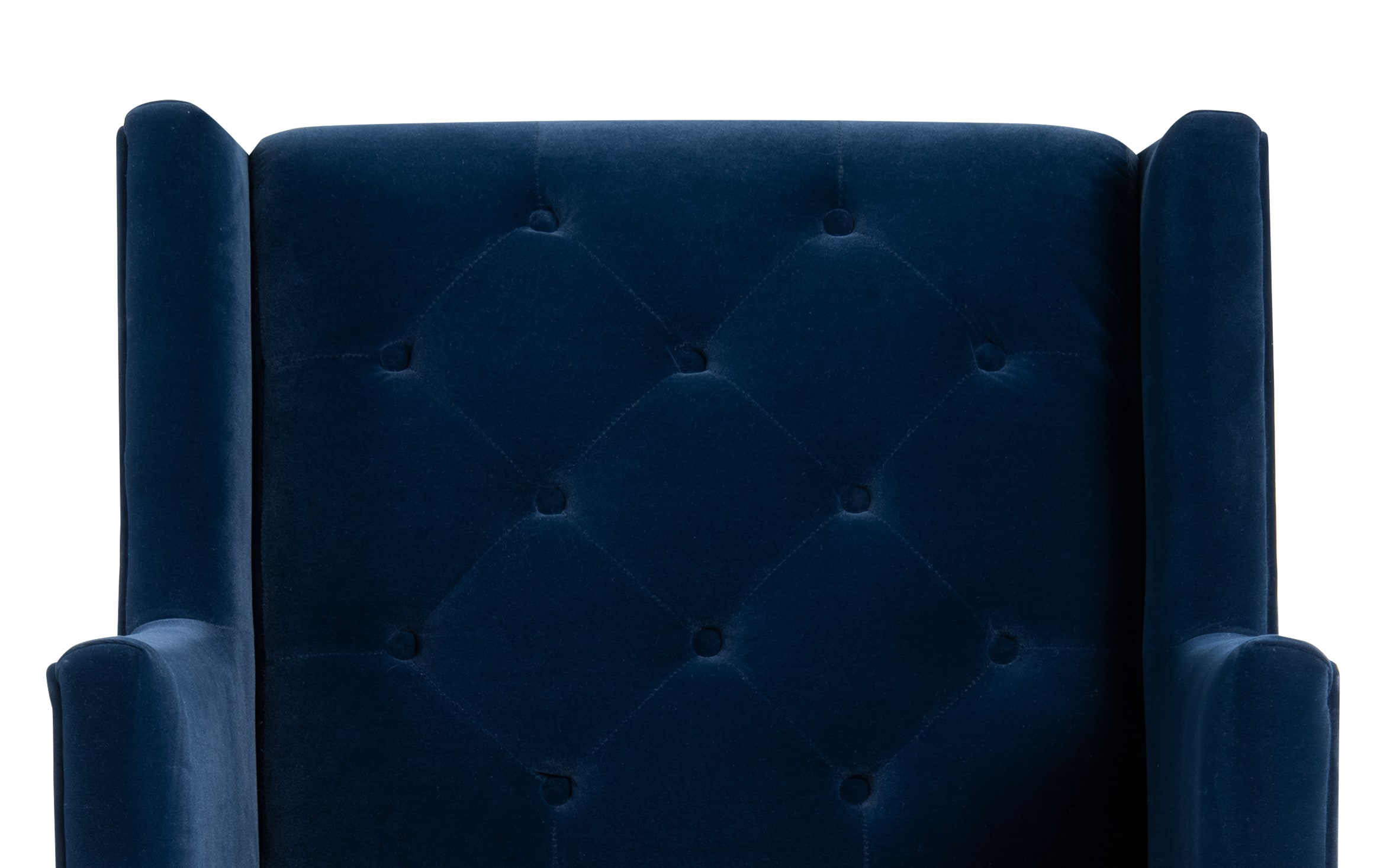 Picture of: Clara Navy Accent Chair Bobs Com