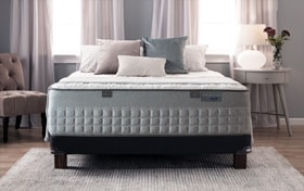 Bob-O-Pedic Hybrid Distinction Queen Dual Low Profile Mattress Set