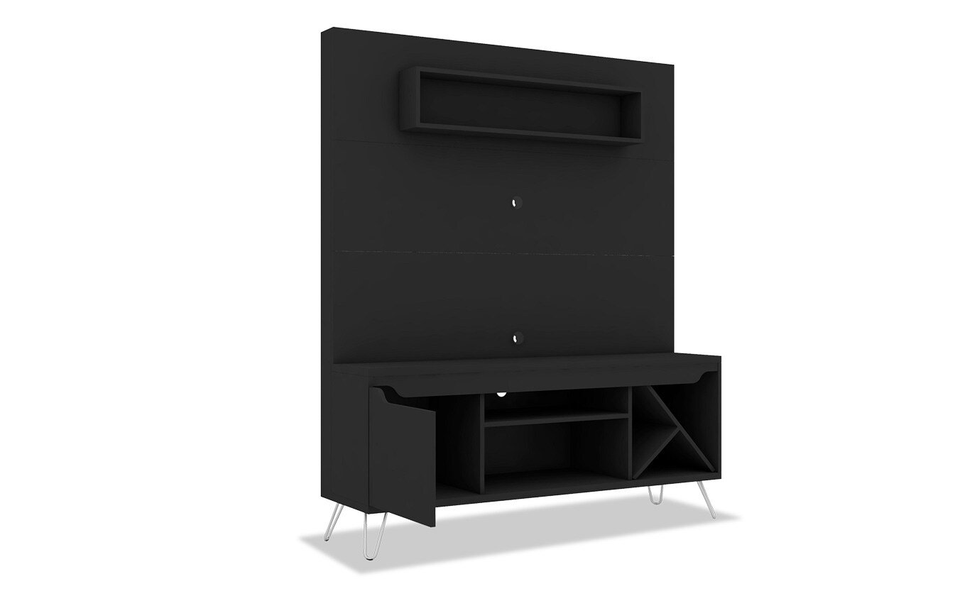 Morin Black Entertainment Center