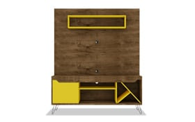 Morin Yellow Entertainment Center