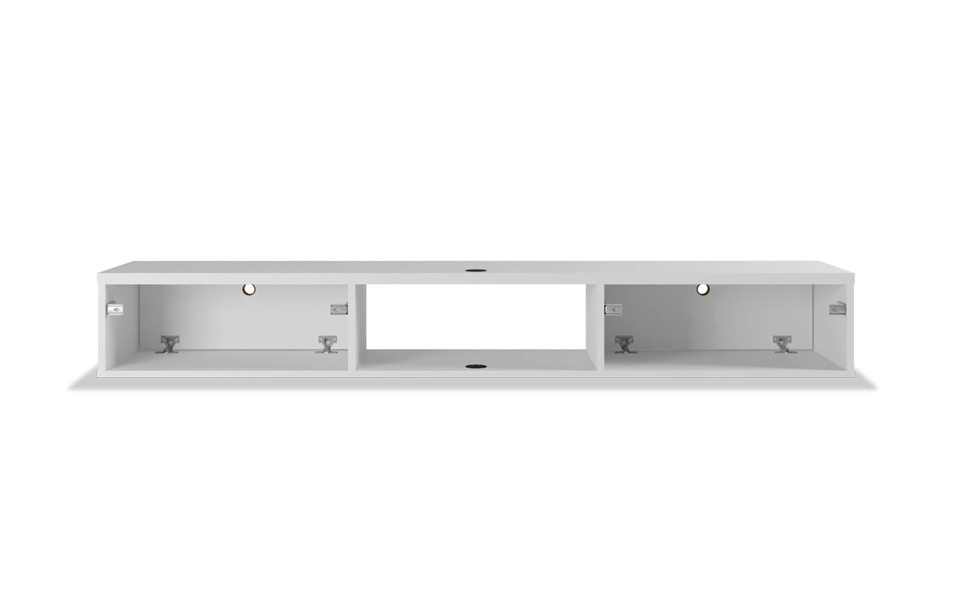Rubio White Floating Desk