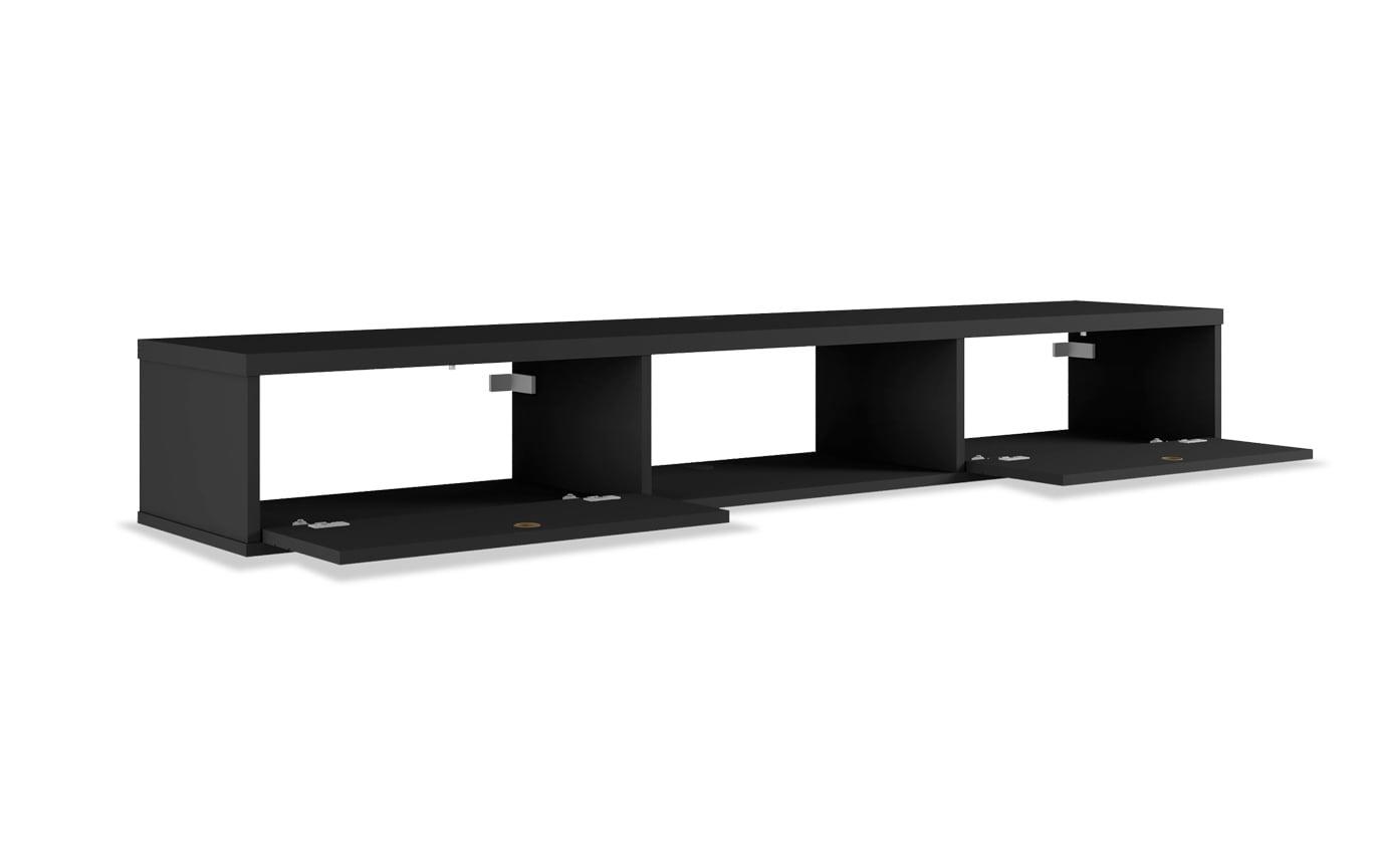 Rubio Black Floating Desk