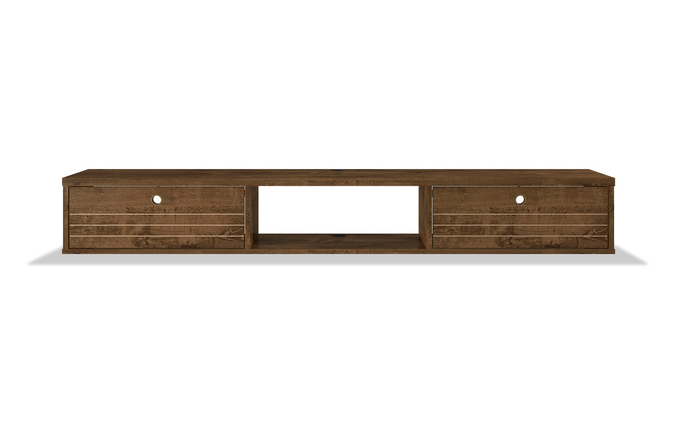 Rubio Brown Floating Desk