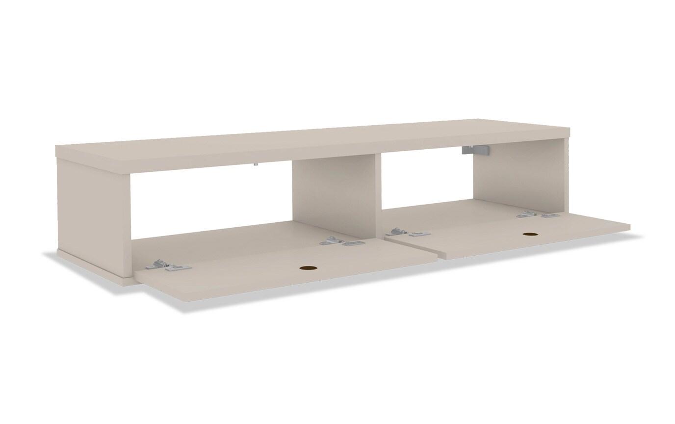 Luna Ivory Floating Desk