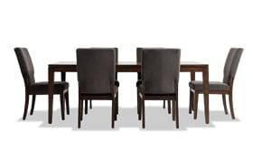 Plaza 7 Piece Dining Set With