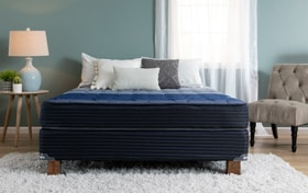 Bob-O-Pedic Gem Hybrid Queen Split Standard Mattress Set