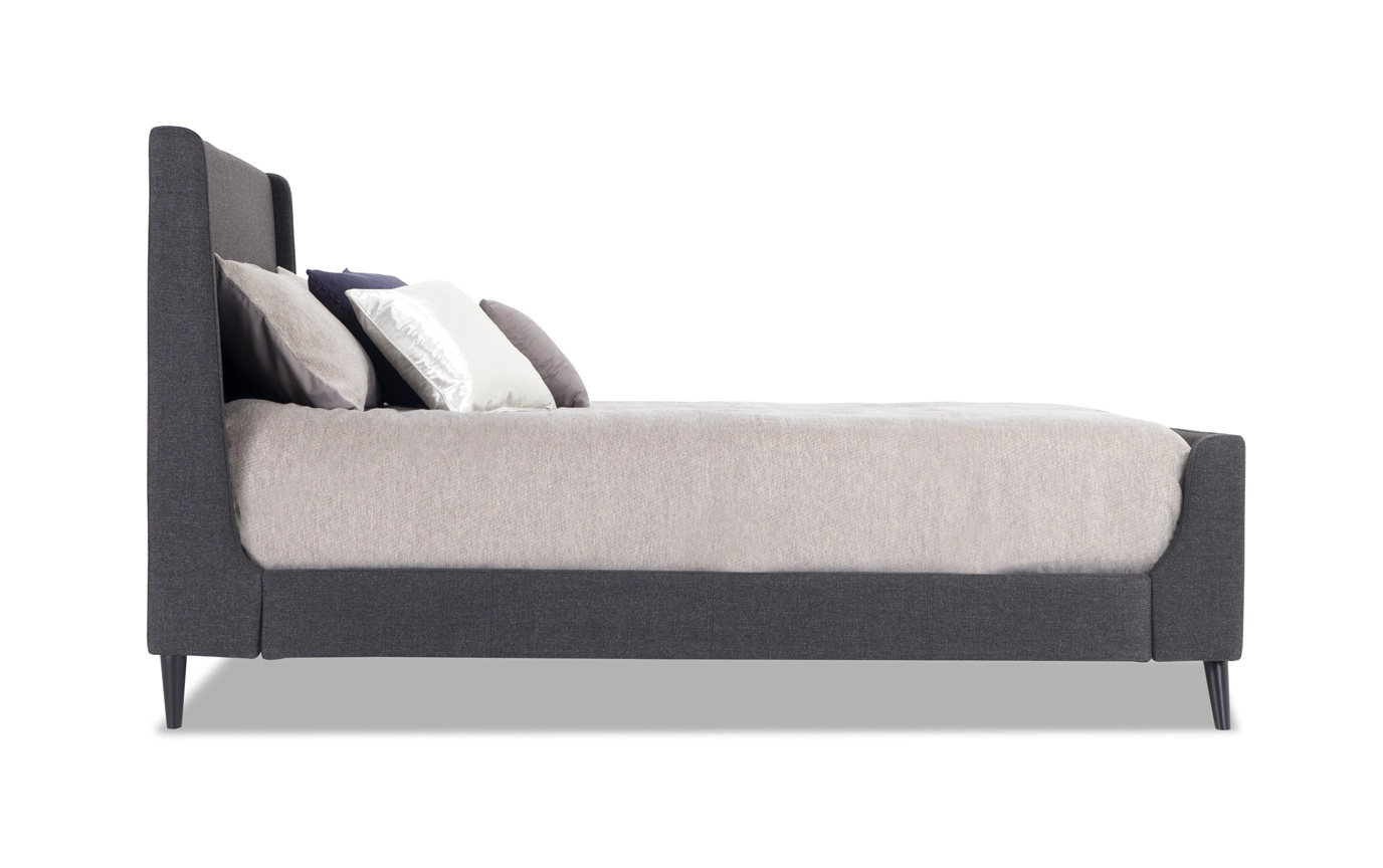 Copenhagen California King Onyx Upholstered Bedroom Set