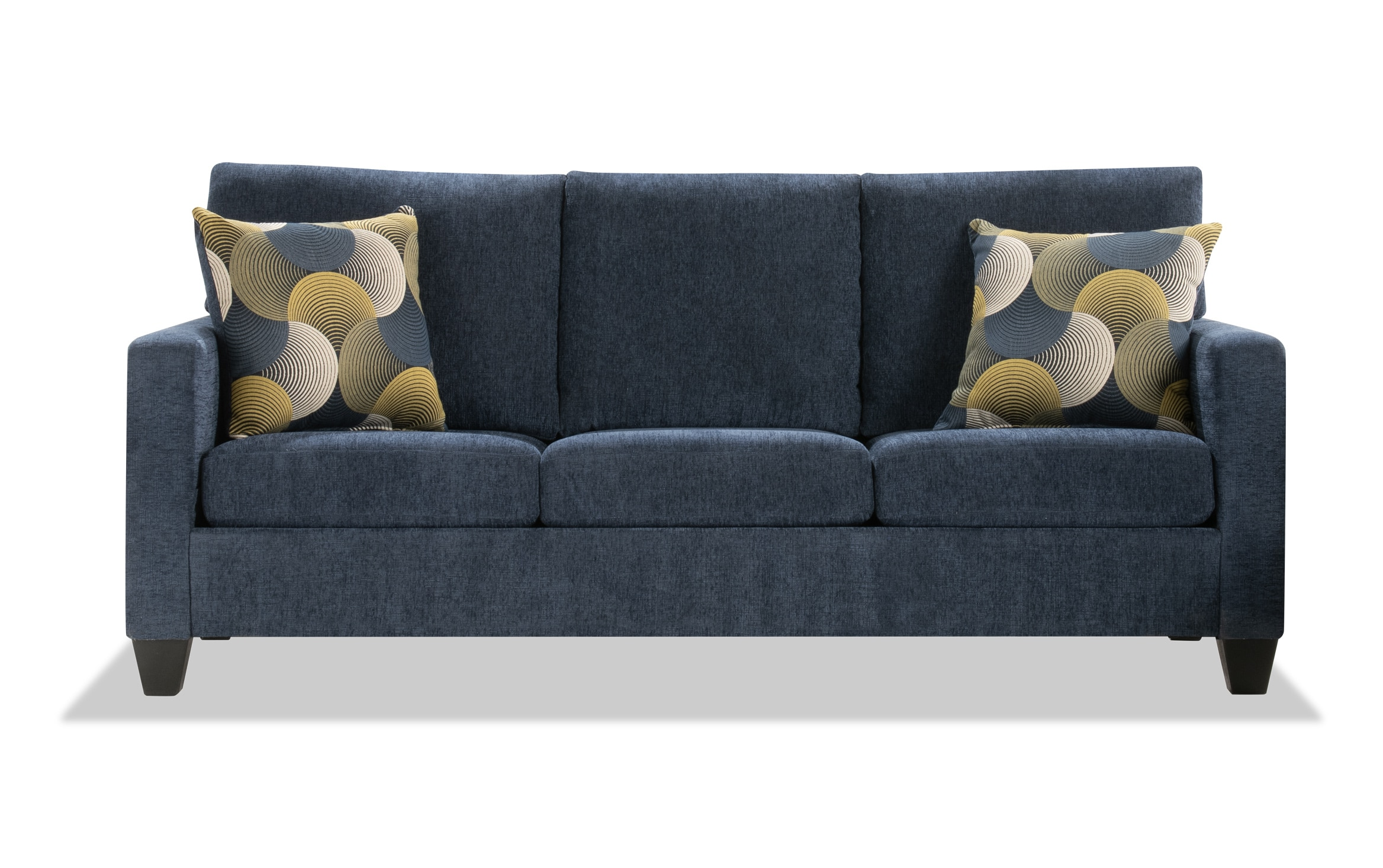 Taylor Blue Sofa Outlet Bob S Discount Furniture