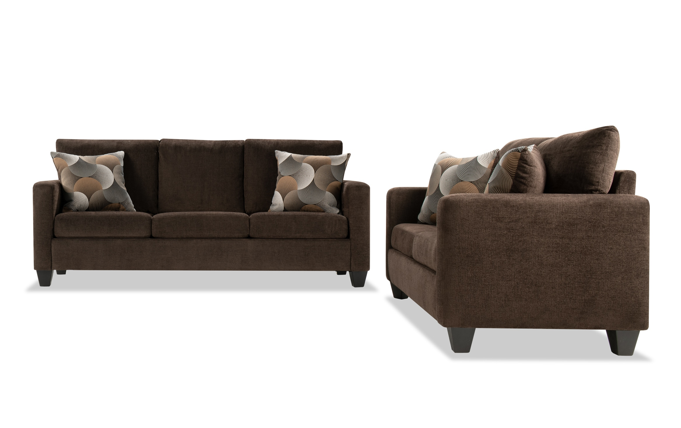 Taylor Brown Sofa Loveseat Outlet Bob S Discount Furniture