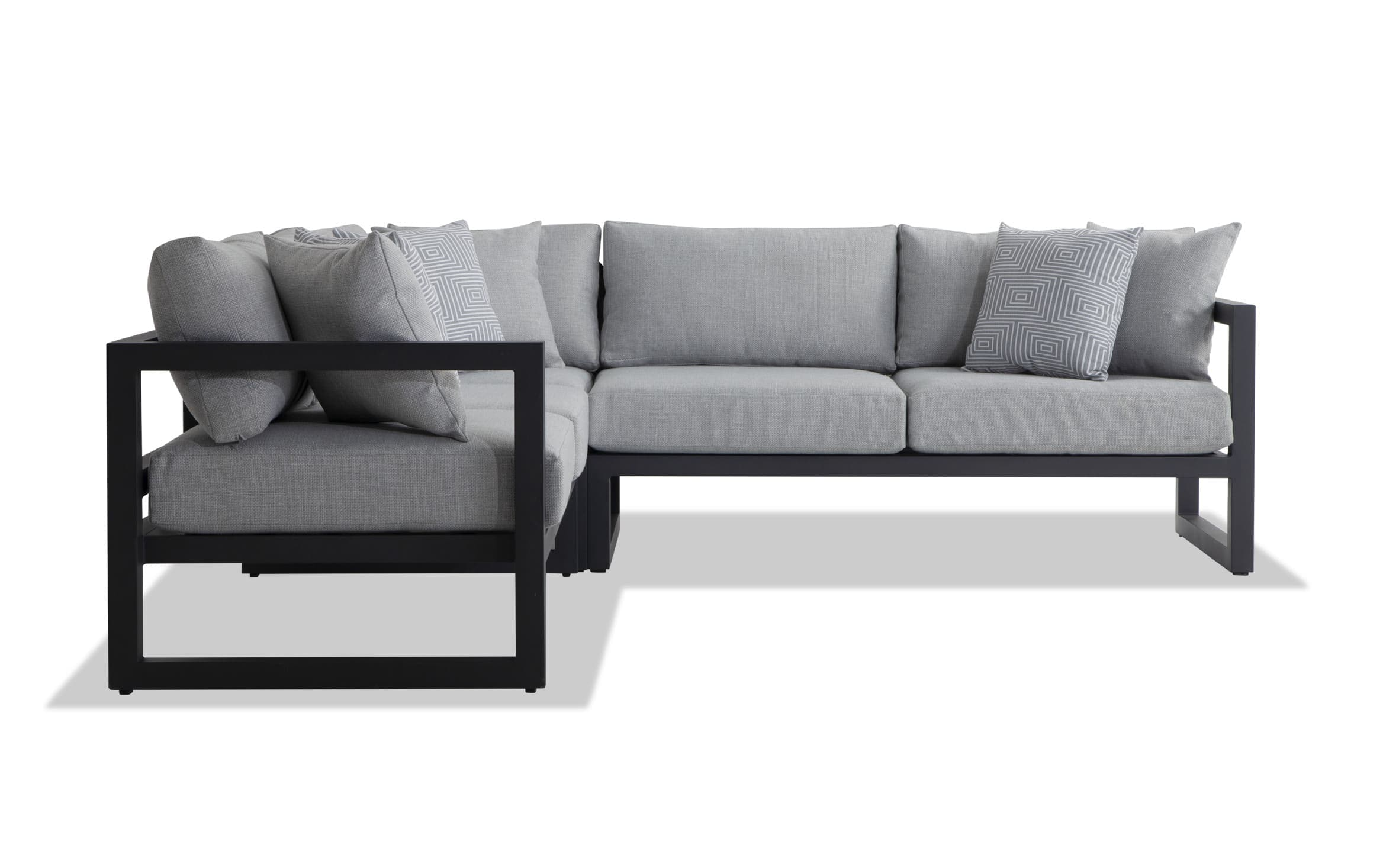 Hollywood 3 Piece Outdoor Sectional with Cover | Outlet | Bobs.com