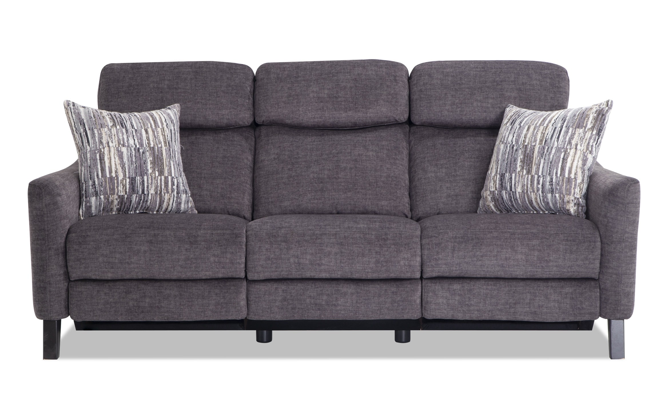 Symmetry Fabric Reclining Sofa