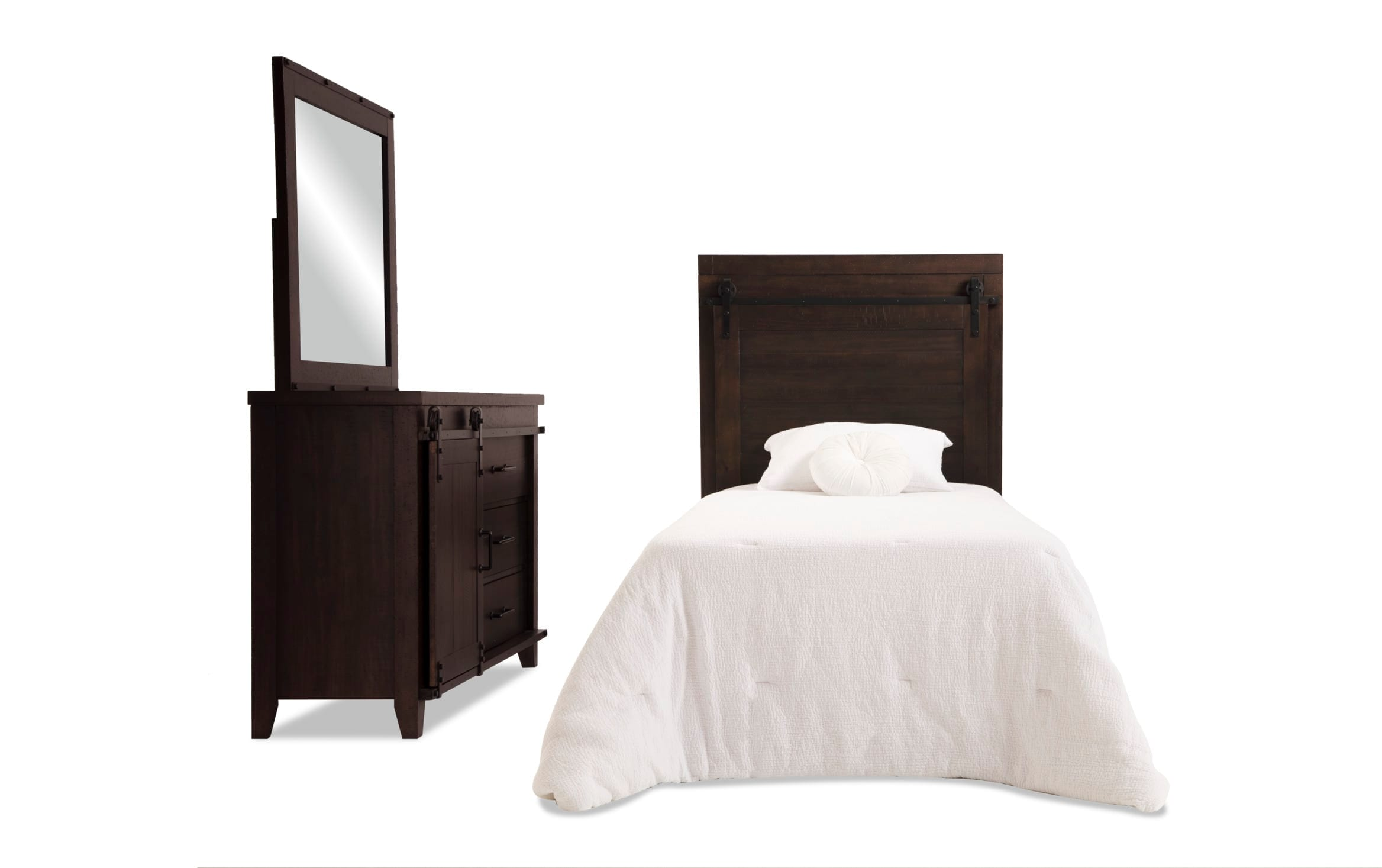 Image of: Montana Youth Full Brown Storage Bedroom Set Bobs Com