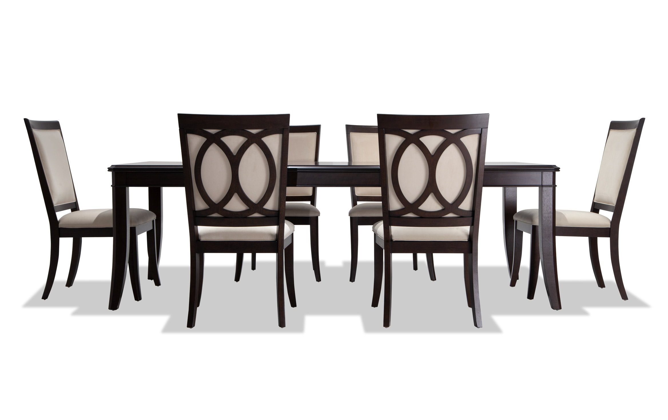 Coco 7 Piece Dining Set With Side, Bobs Dining Room Sets