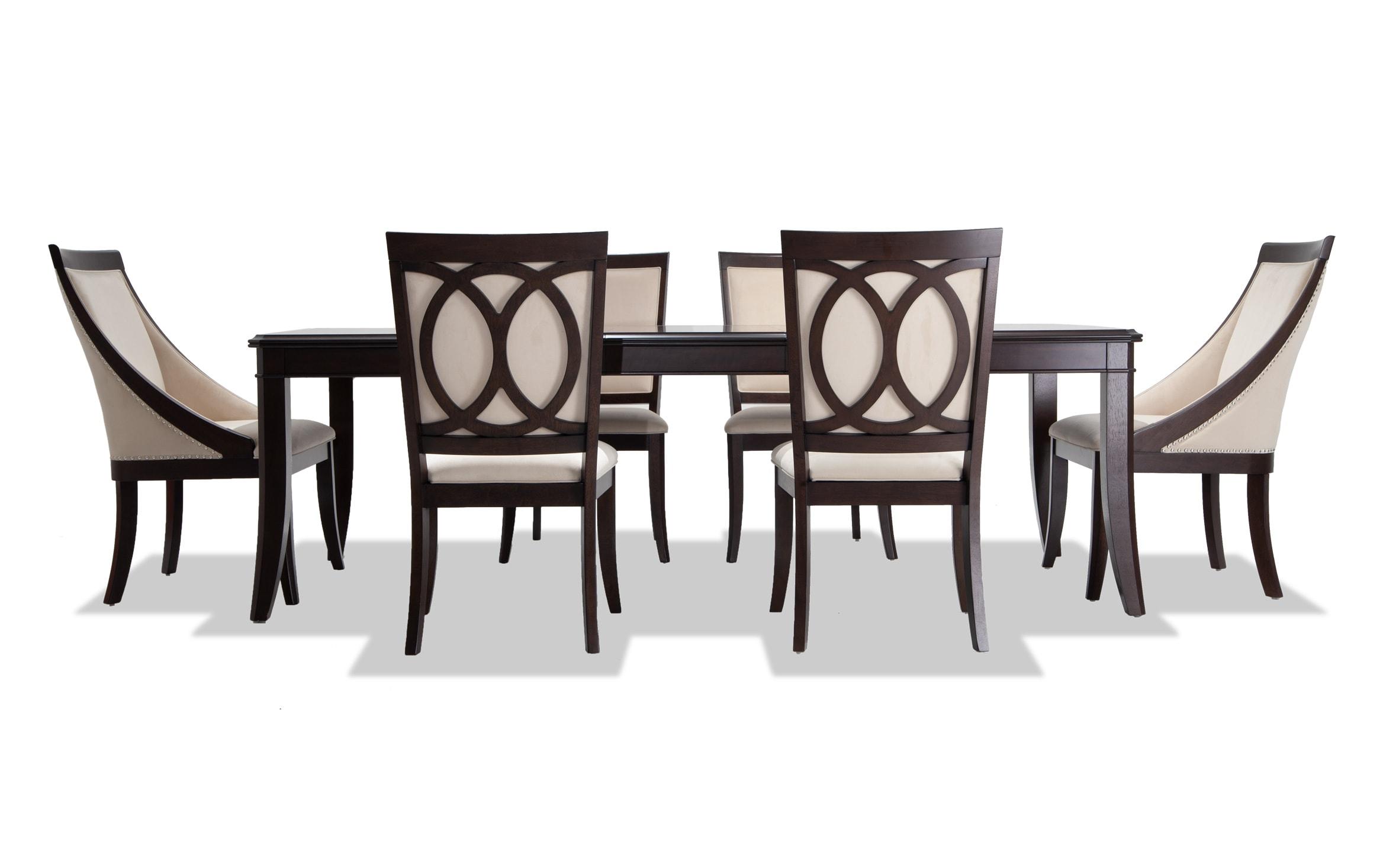 Coco 7 Piece Dining Set Bob S Discount Furniture