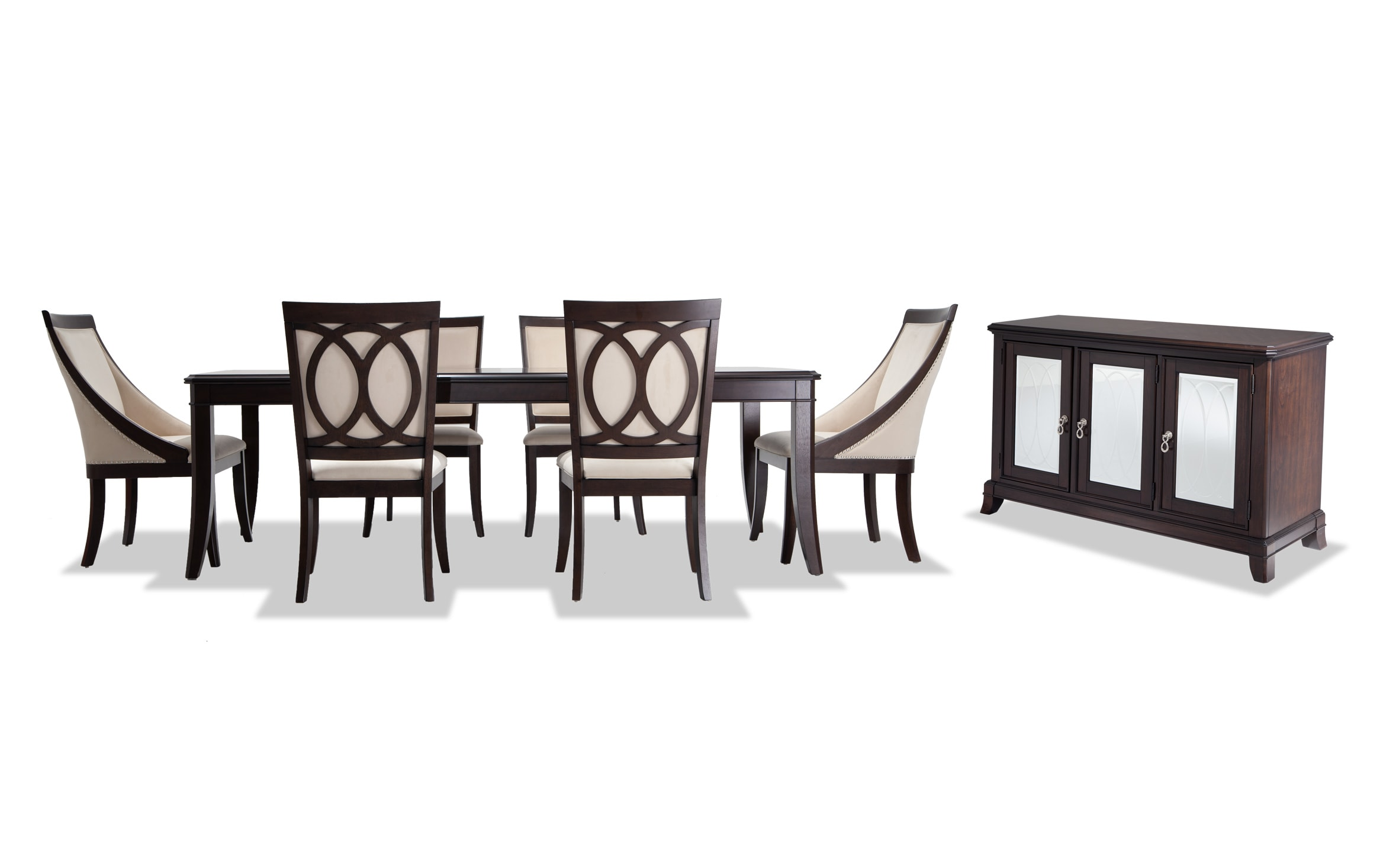 Coco 8 Piece Dining Set With Server Bobs Com