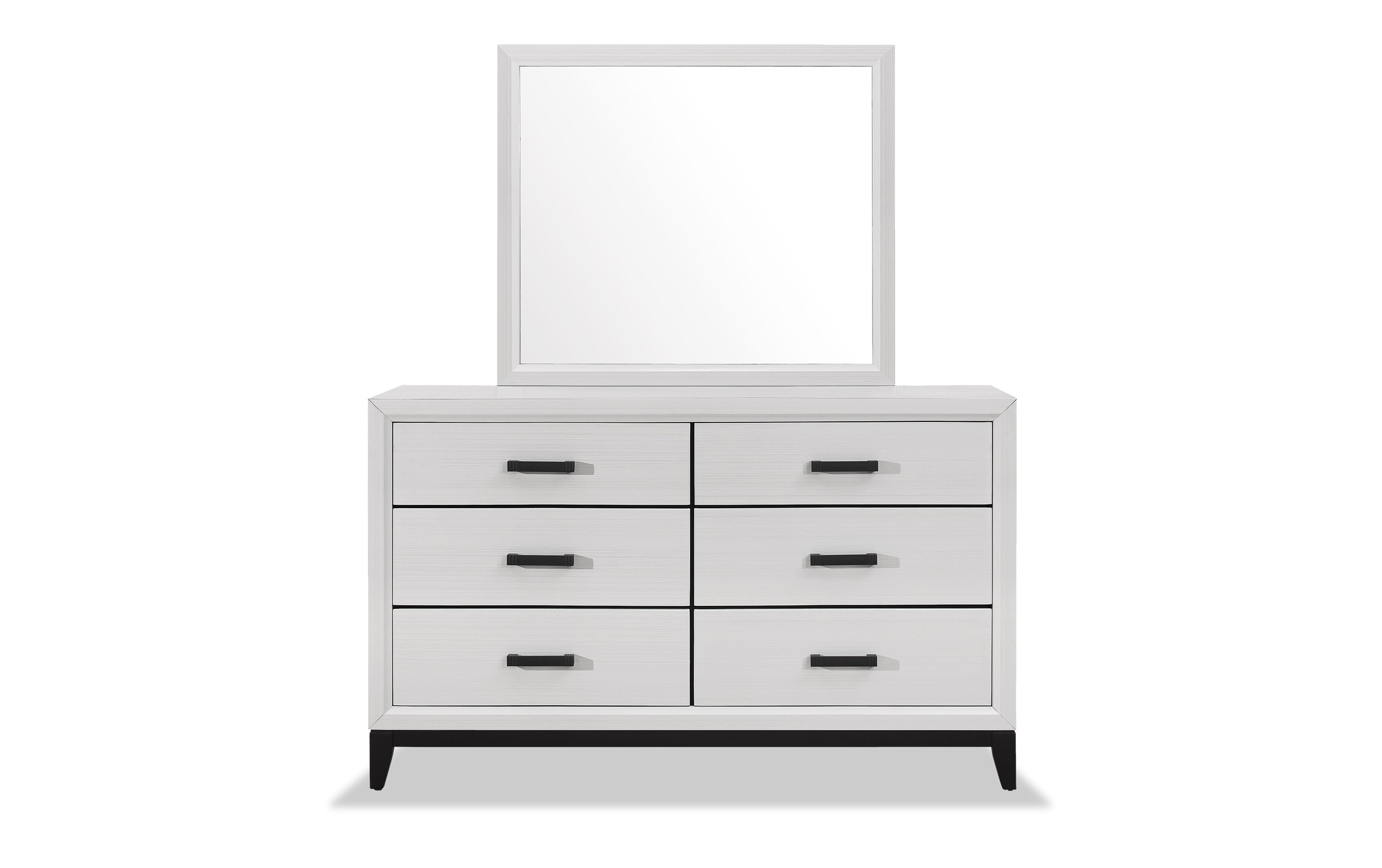 Joss White Dresser Mirror Outlet