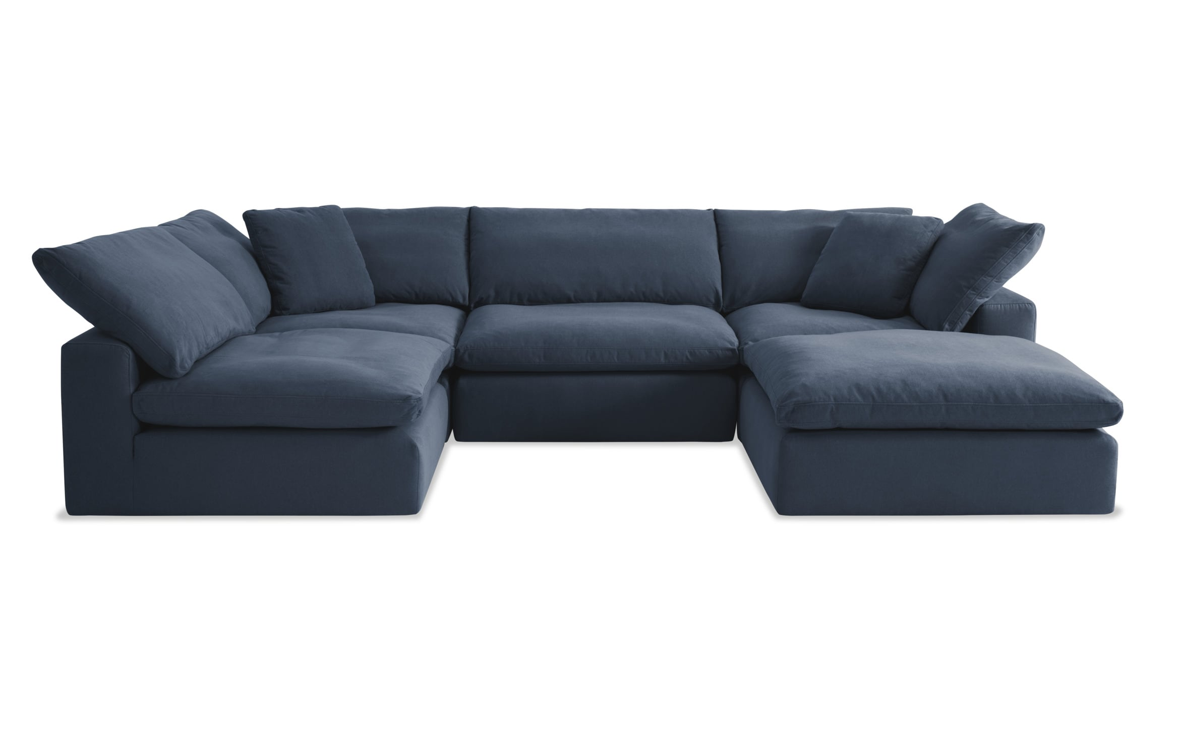 Dream Navy Modular 5 Piece Sectional | Bob's Discount Furniture