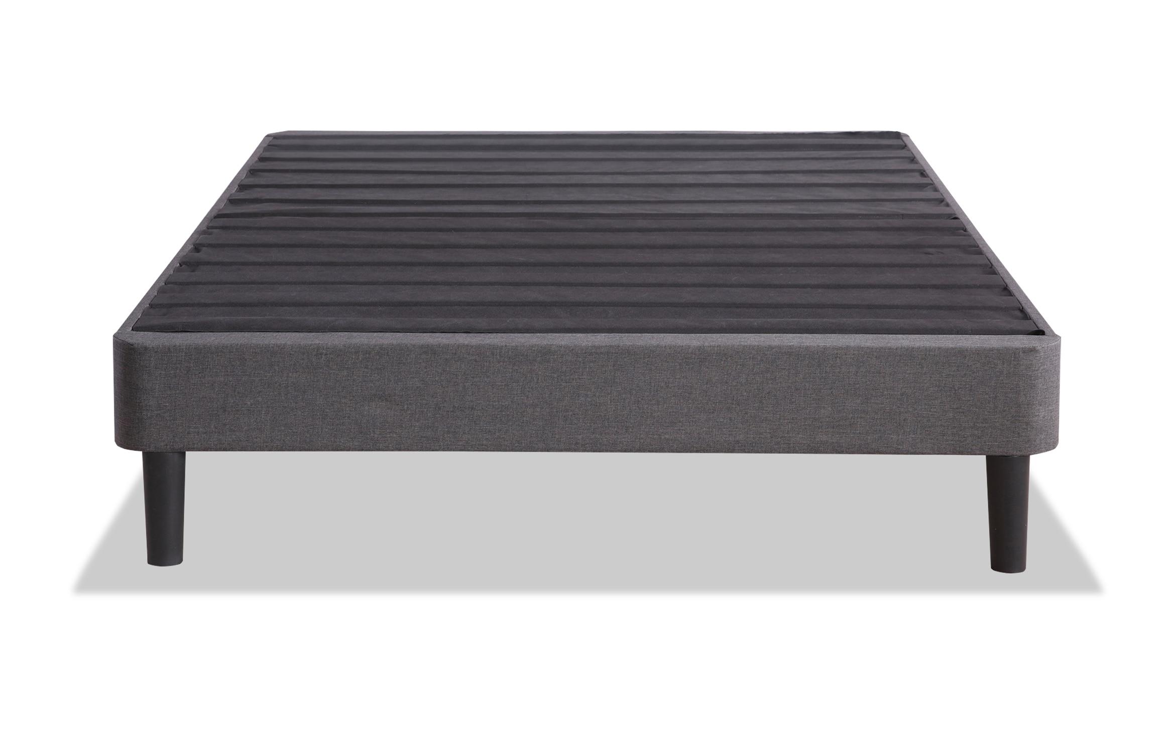 Image of: Upholstered Platform Queen Bed Frame Bobs Com