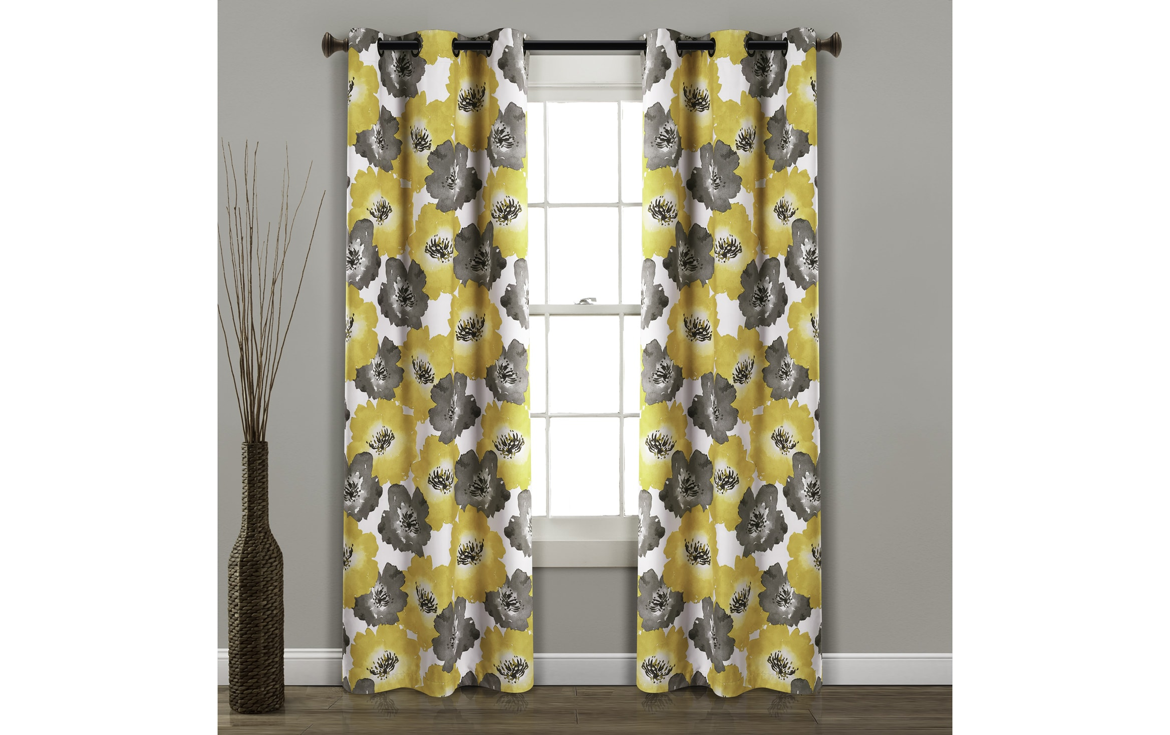 """Unisex Beige//Blue Baby Room Drapes 100/% Cotton Nursery Curtains by ULLENBOOM 110/"""" x 84/"""" Bears//Stars//Checkered"""