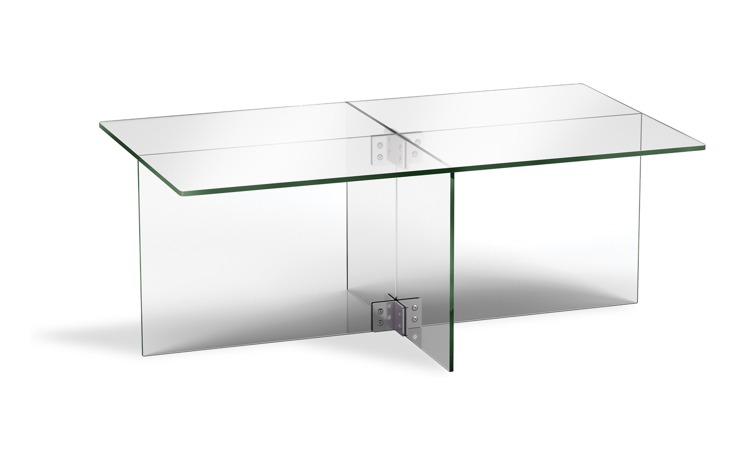 Picture of: Cast Clear Coffee Table Bobs Com
