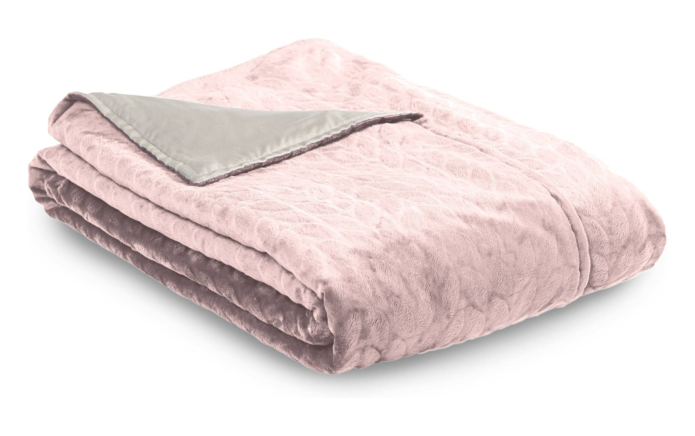 Comfort 2 0 Soft Pink Duvet Cover Weighted Blanket Bobs Com