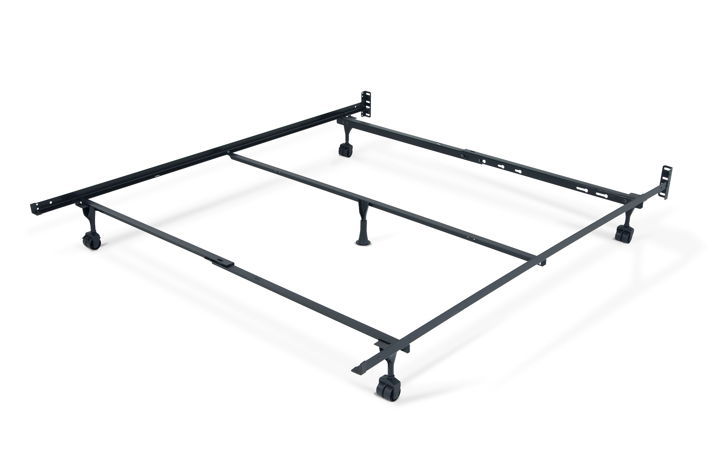 Queen Bed Frame With Casters Bobs Com