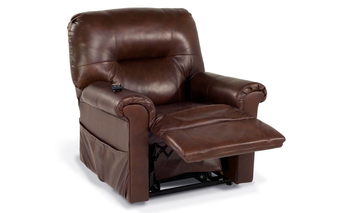 Leather Power Lift Recliner