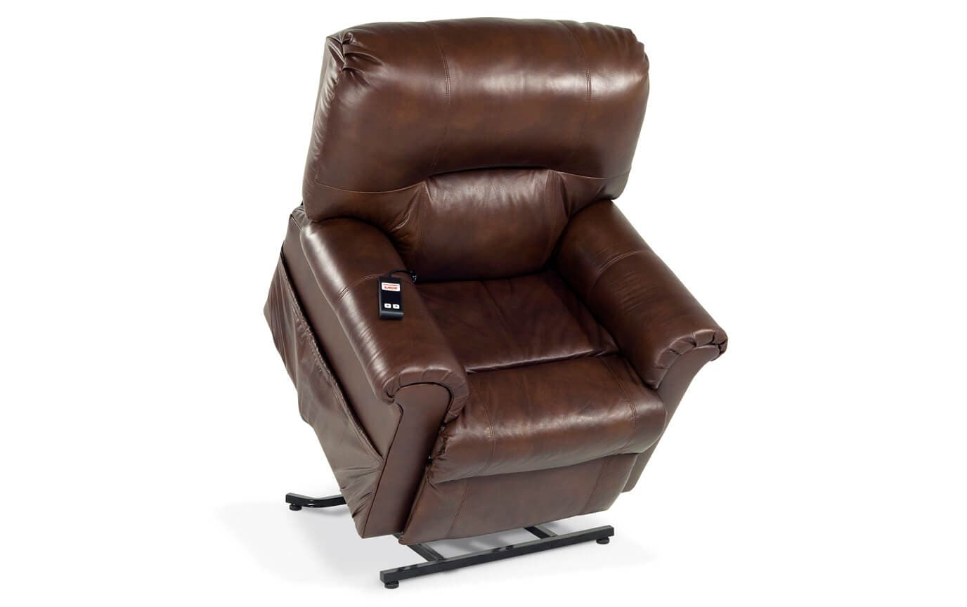 Leather Power Lift Recliner Bob S Discount Furniture