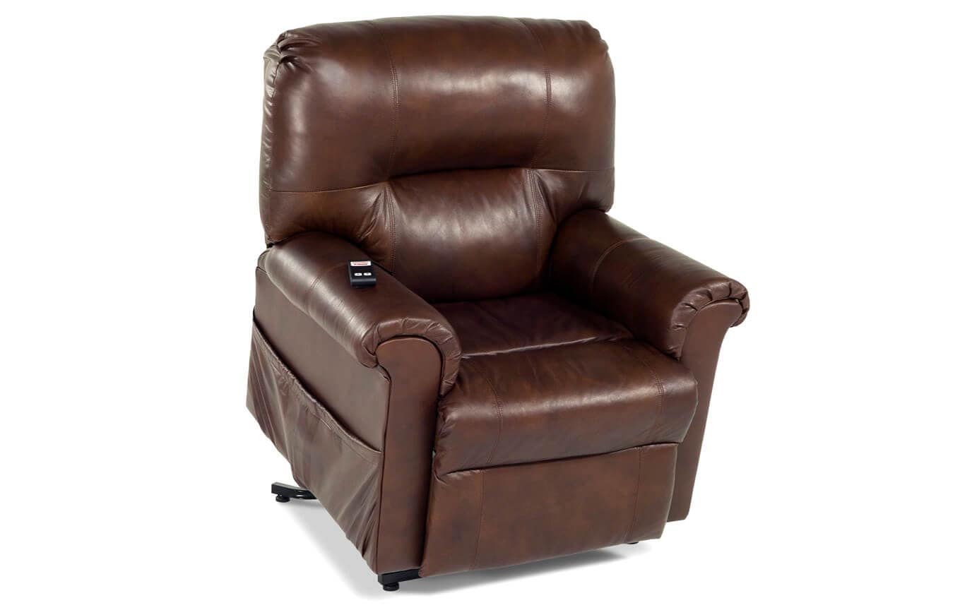Leather Power Lift Recliner Bobs Com