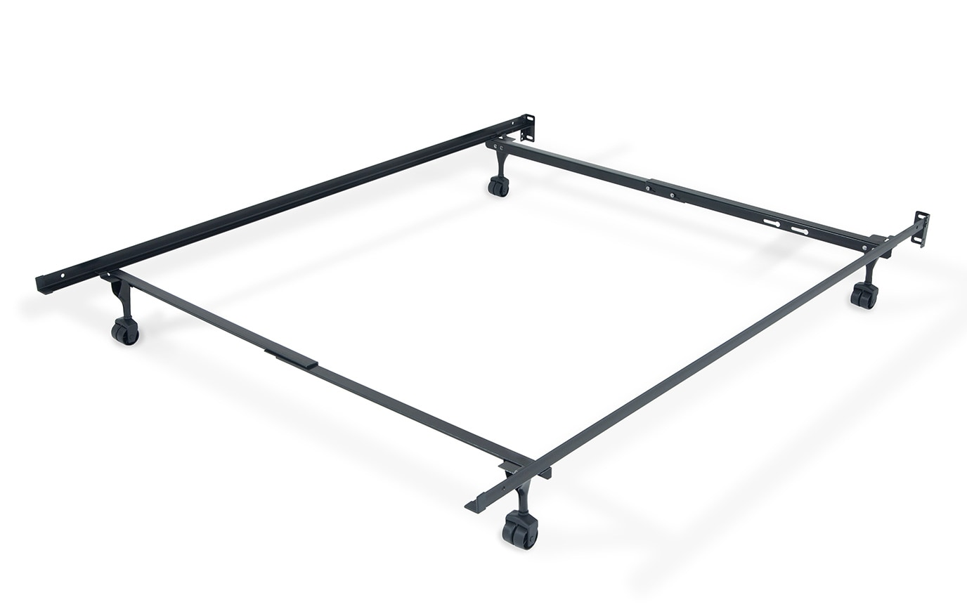 Twin Full Bed Frame With Casters