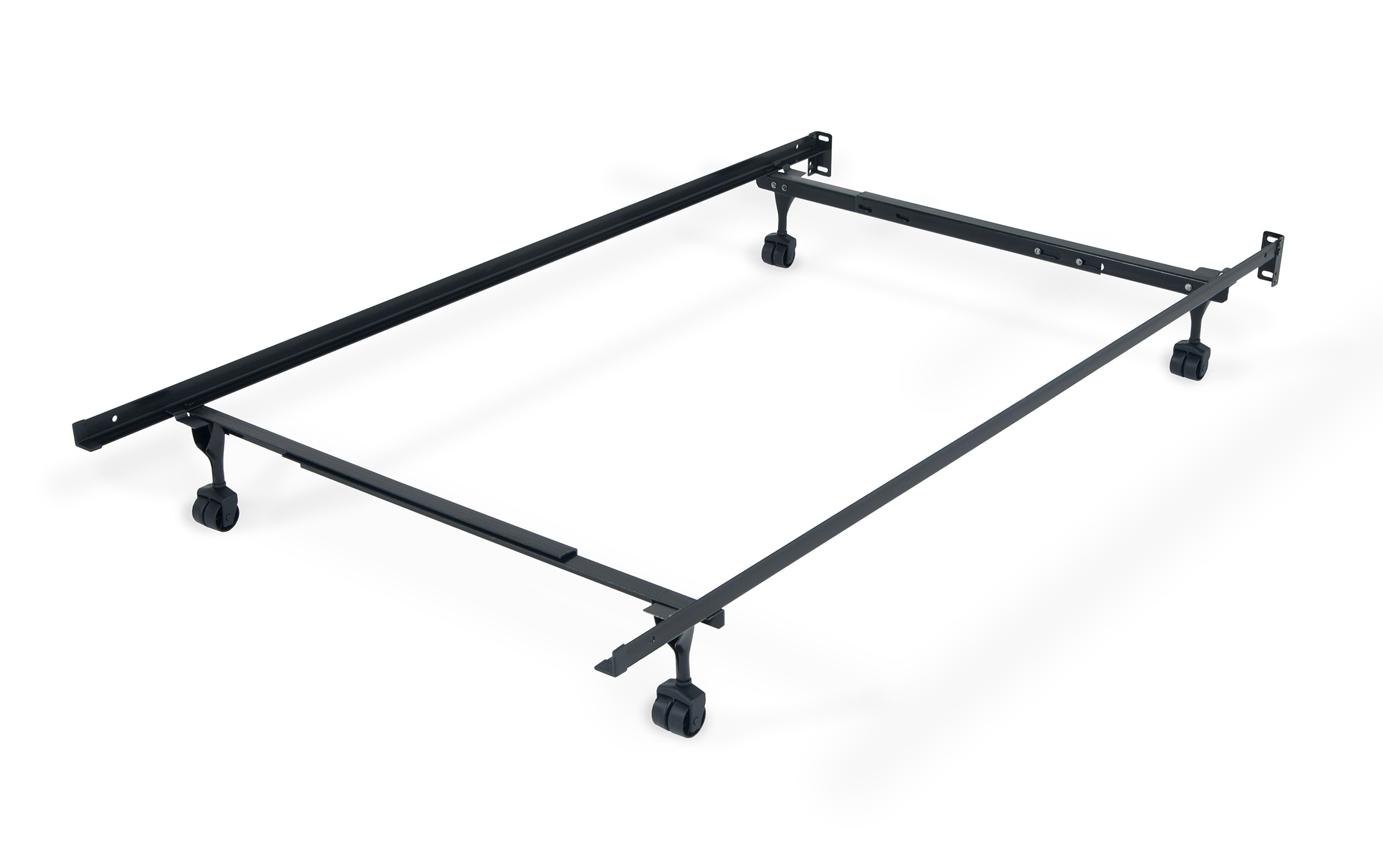Twin Full Bed Frame With Casters Bobs