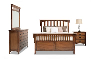 Admirable Bedroom Sets Bobs Com Download Free Architecture Designs Terstmadebymaigaardcom