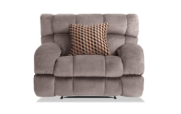 Frank Gray Lay Flat Recliner Product Image