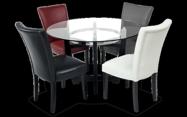 Matinee Black 5 Piece Dining Set