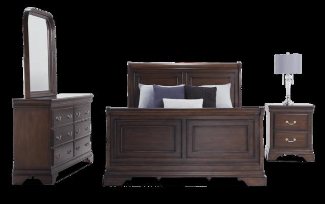 Louie Louie Twin Gray Bedroom Set